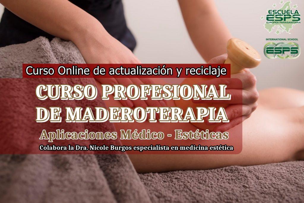 Cursos de maderoterapia organizados por la Escuela Europea Parasanitaria ESPS
